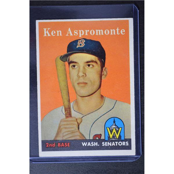 1958 Topps #405 Ken Aspromonte RC