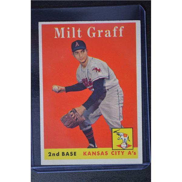 1958 Topps #192 Milt Graff