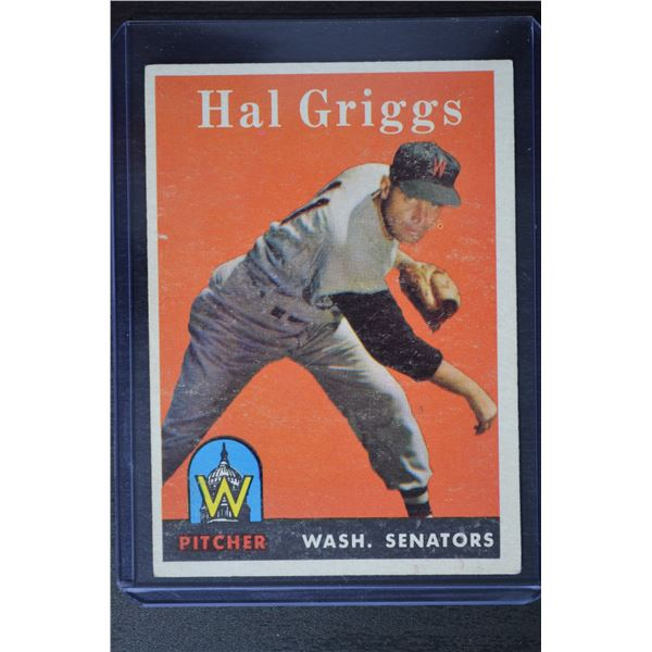 1958 Topps #455 Hal Griggs RC