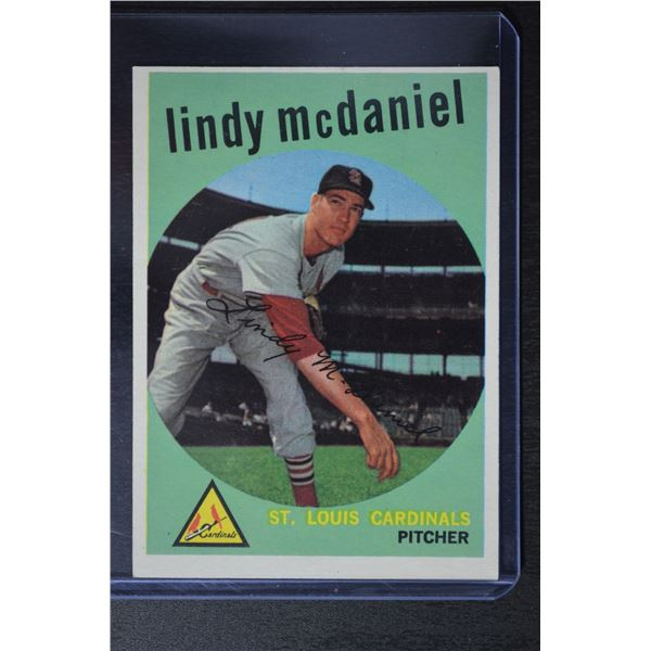 1959 Topps #479 Lindy McDaniel