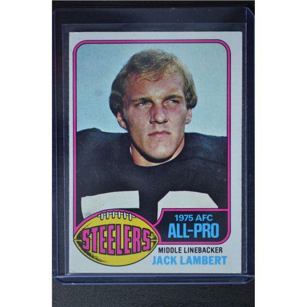 1976 Topps #220 Jack Lambert AP RC