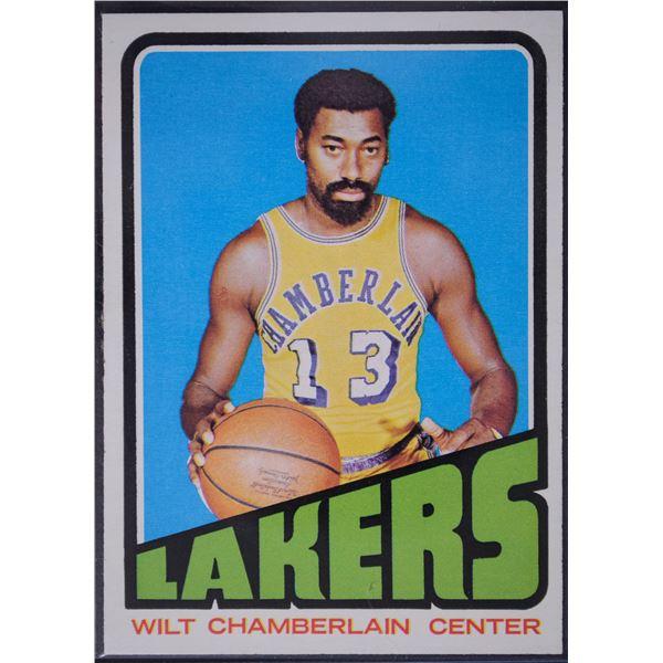 1972-73 Topps #1 Wilt Chamberlain