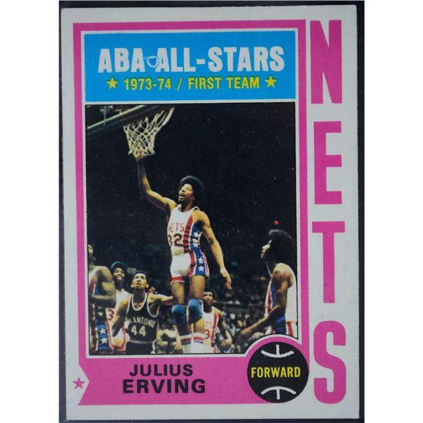 1974-75 Topps #200 Julius Erving AS1 UER