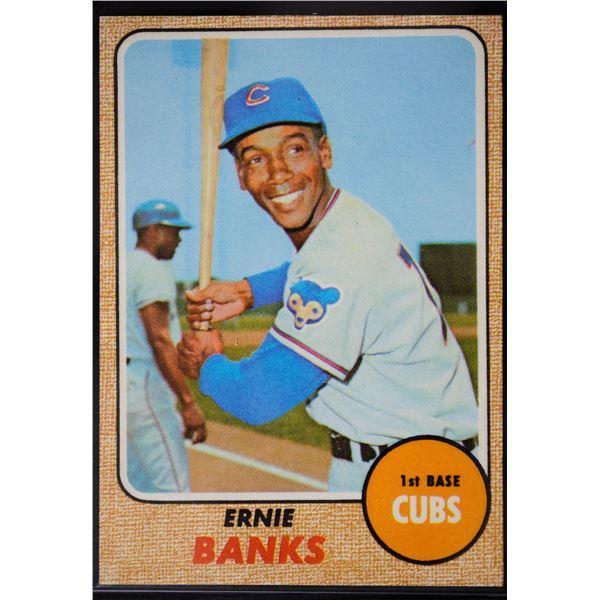 1968 Topps #355 Ernie Banks
