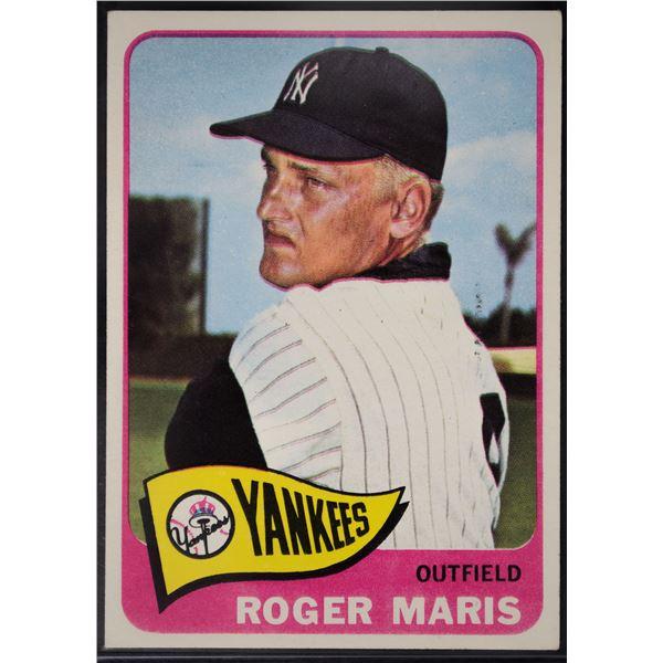 1965 Topps #155 Roger Maris