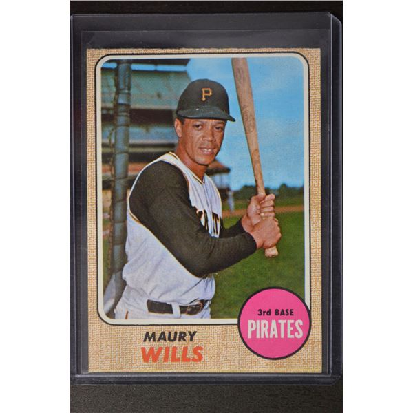 1968 Topps #175 Maury Wills