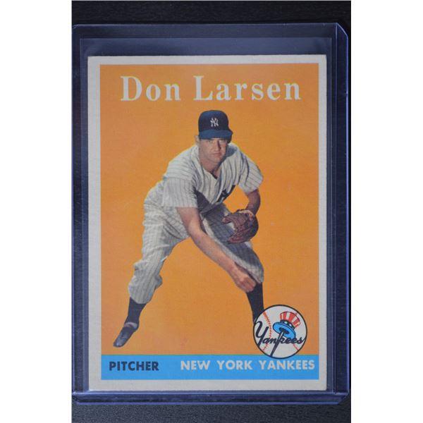 1958 Topps #161 Don Larsen