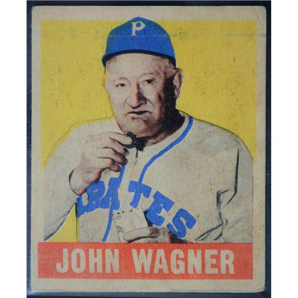 1949 Leaf #70 Honus Wagner