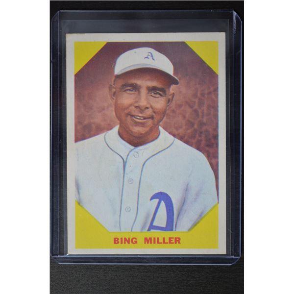 1960 Fleer #39 Edmund (Bing) Miller