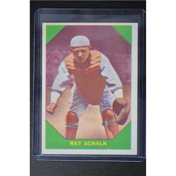 1960 Fleer #56 Ray Schalk DP