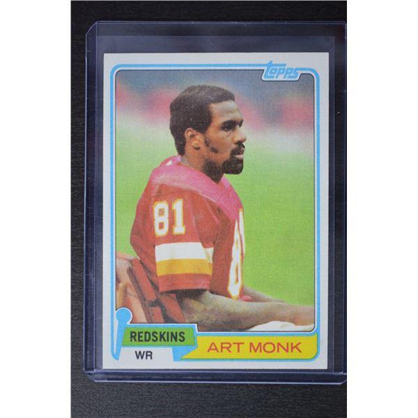 1981 Topps #194 Art Monk RC