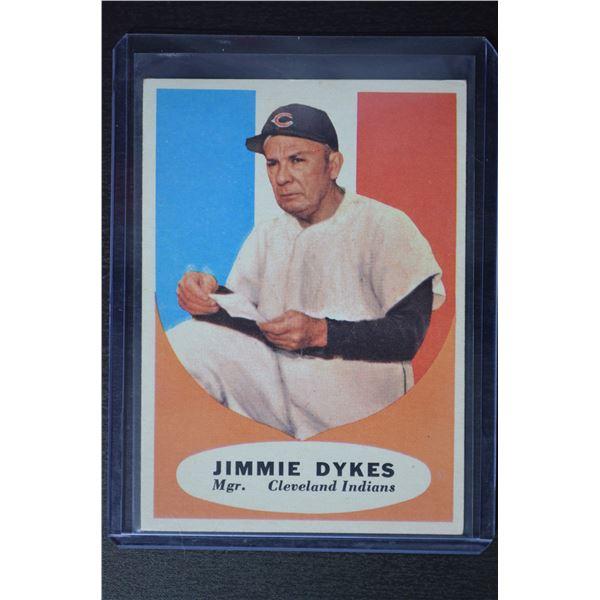 1961 Topps #222 Jimmy Dykes MG