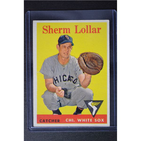 1958 Topps #267 Sherm Lollar