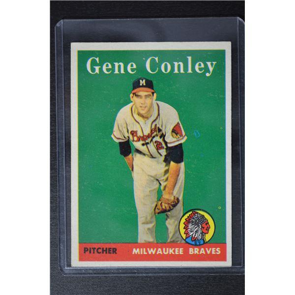1958 Topps #431 Gene Conley