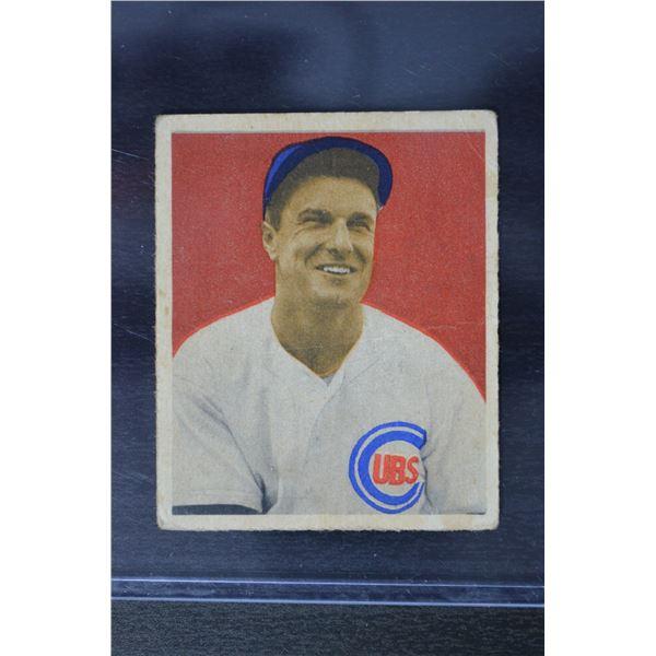 1949 Bowman #83A Bob Scheffing NNOF RC