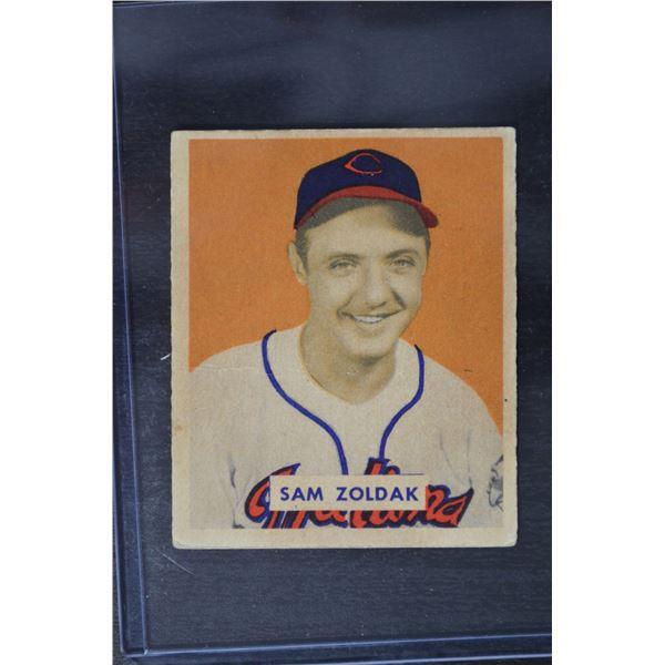 1949 Bowman #78B Sam Zoldak NOF