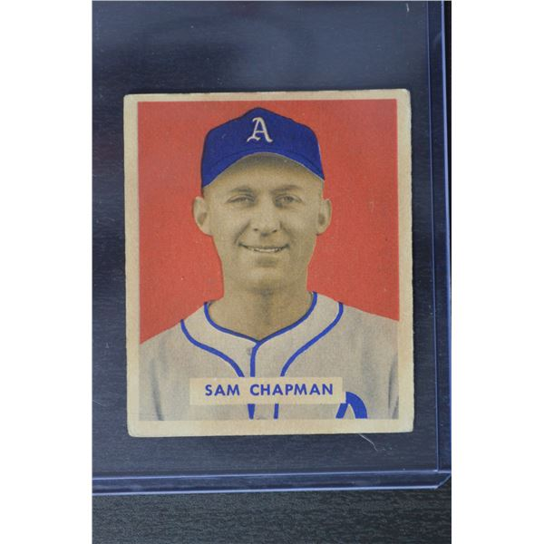 1949 Bowman #112 Sam Chapman