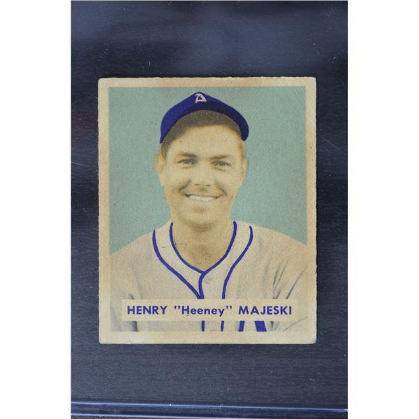 1949 Bowman #127B Hank Majeski Print
