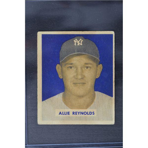 1949 Bowman #114 Allie Reynolds