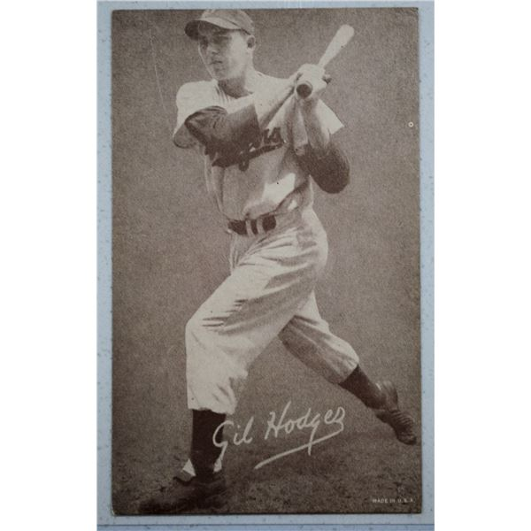 1947-66 Exhibits #99A Gil Hodges
