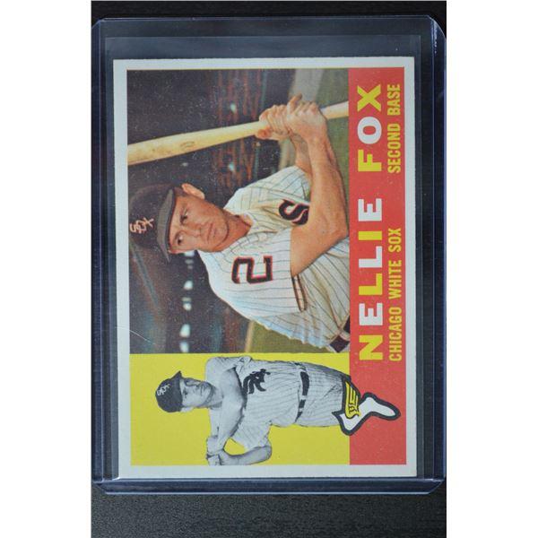 1960 Topps #100 Nellie Fox
