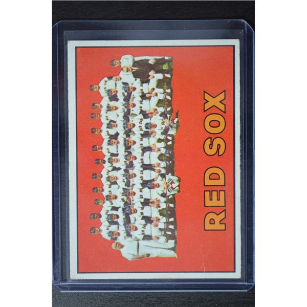 1967 Topps #604 Boston Red Sox TC
