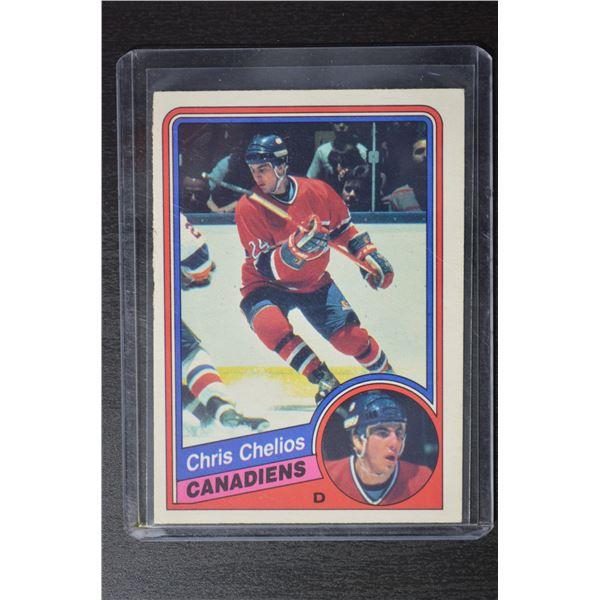 1984-85 O-Pee-Chee #259 Chris Chelios RC