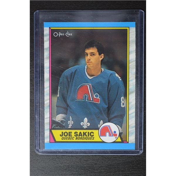 1989-90 O-Pee-Chee #113 Joe Sakic RC