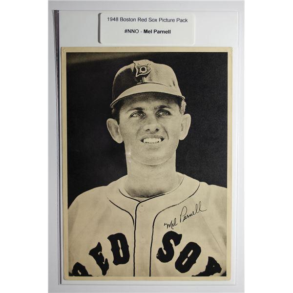 1948 Boston Red Socks Picture Pack - Mel Parnell