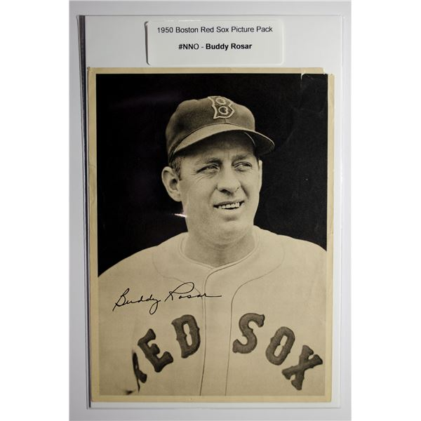 1950 Boston Red Sox Picture Pack - Buddy Rosar