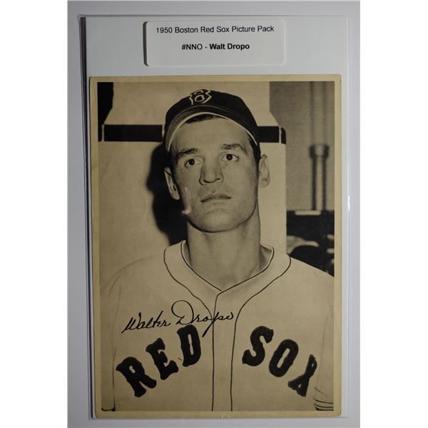 1950 Boston Red Sox Picture Pack - Walt Dropo