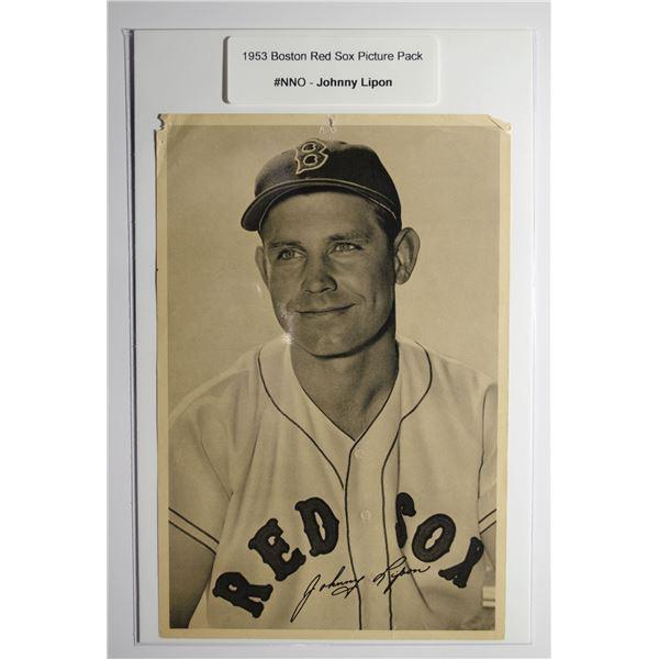 1953 Boston Red Socks Picture Pack - Johnny Lipon