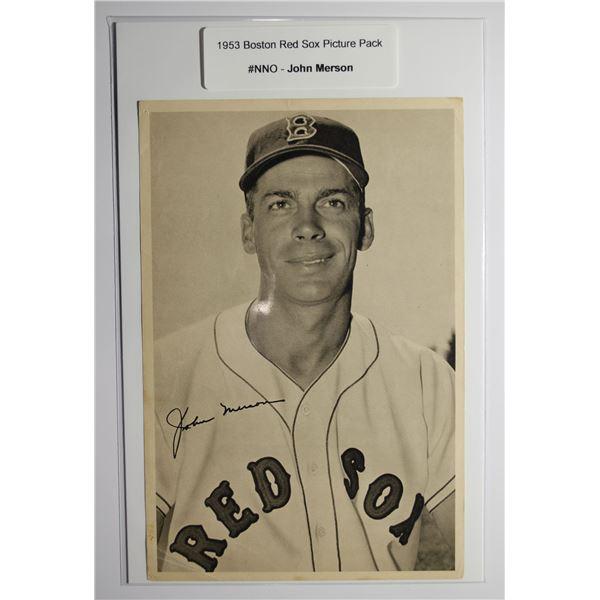1953 Boston Red Socks Picture Pack - John Merson