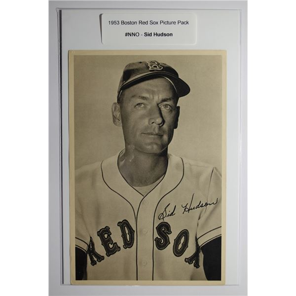 1953 Boston Red Socks Picture Pack - Sid Hudson
