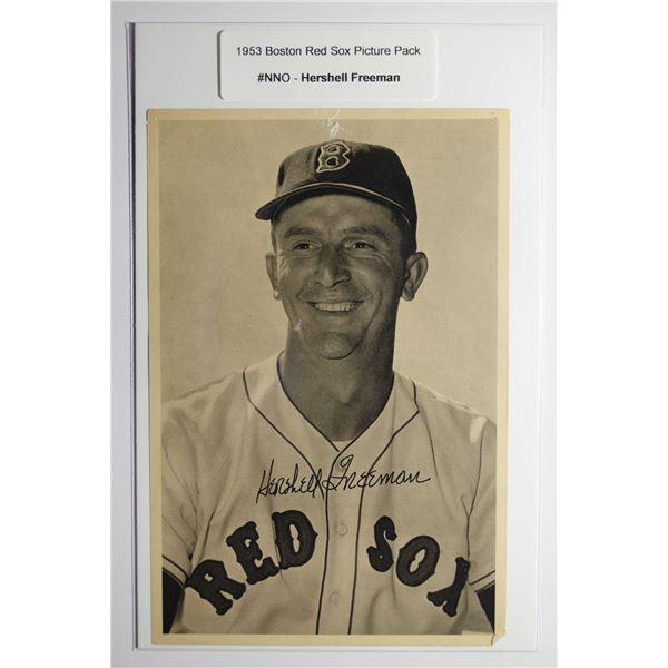 1953 Boston Red Socks Picture Pack - Hershell Freeman