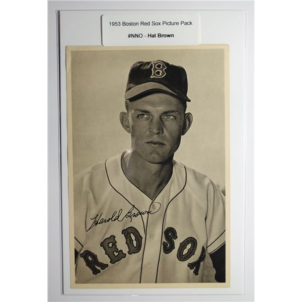 1953 Boston Red Socks Picture Pack - Hal Brown
