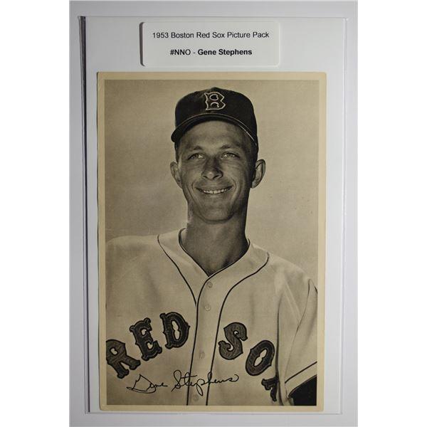 1953 Boston Red Socks Picture Pack - Gene Stephens