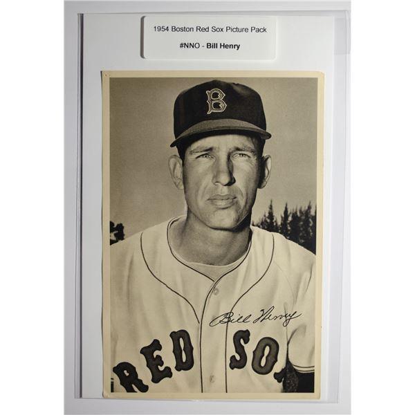 1954 Boston Red Socks Picture Pack - Bill Henry