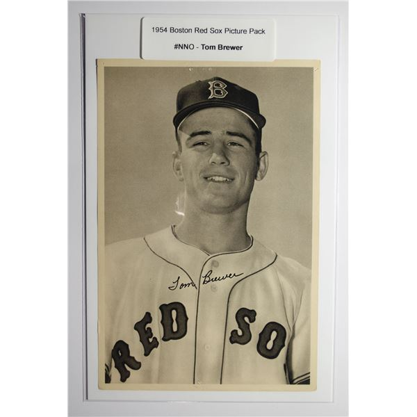 1954 Boston Red Socks Picture Pack - Tom Brewer