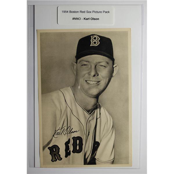 1954 Boston Red Socks Picture Pack - Karl Olson