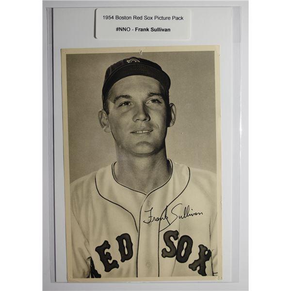 1954 Boston Red Socks Picture Pack - Frank Sullivan