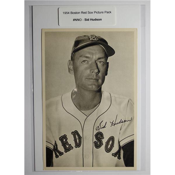 1954 Boston Red Socks Picture Pack - Sid Hudson