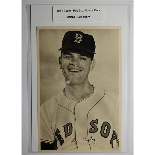 1954 Boston Red Socks Picture Pack - Leo Kiely