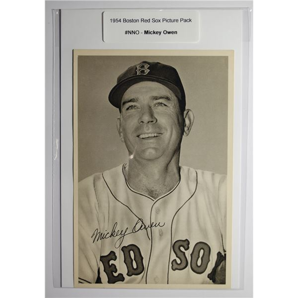 1954 Boston Red Socks Picture Pack - Mickey Owen