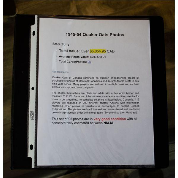 1945-54 Quaker Oats Photos (Q1)