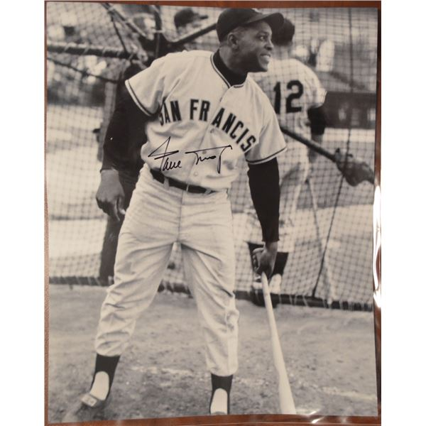 Willie Mays - Autographed Photo