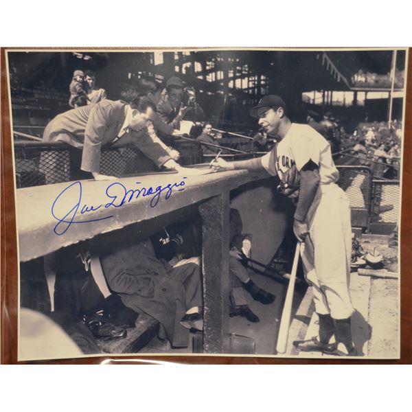 Joe Dimaggio - Autographed Photo