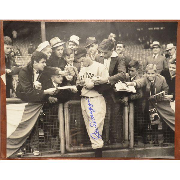 Autographed Photo - Joe DiMaggio