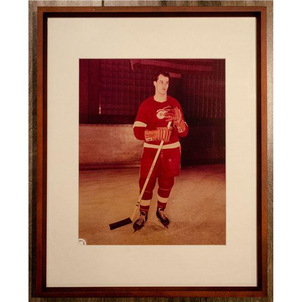 Gordie Howe Photo (Framed)