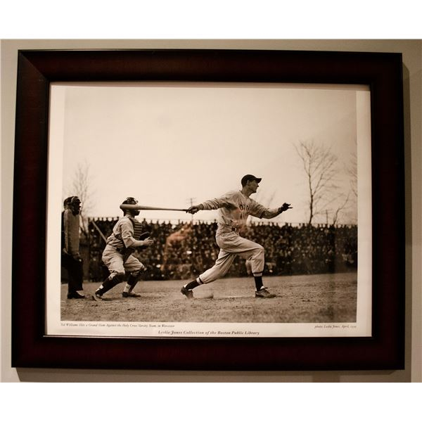 1939 Ted Williams (Framed) Photo